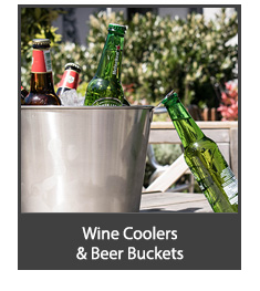 Wine Coolers and Beer Buckets
