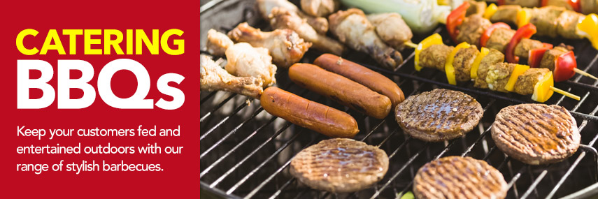 Catering Barbecues from Stephensons Catering Suppliers