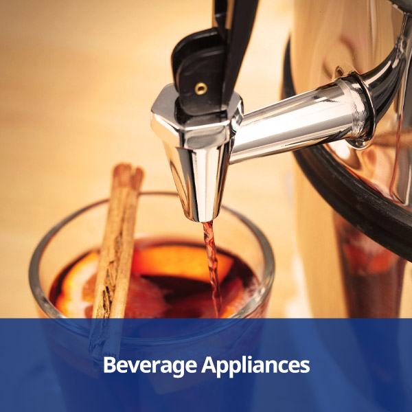 Beverage Appliances from Stephensons Catering Suppliers