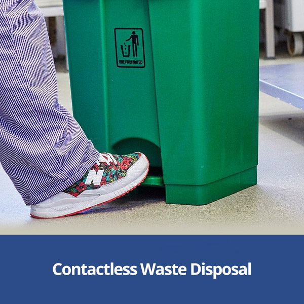Contactless Waste Disposal Products from Stephensons Catering Suppliers