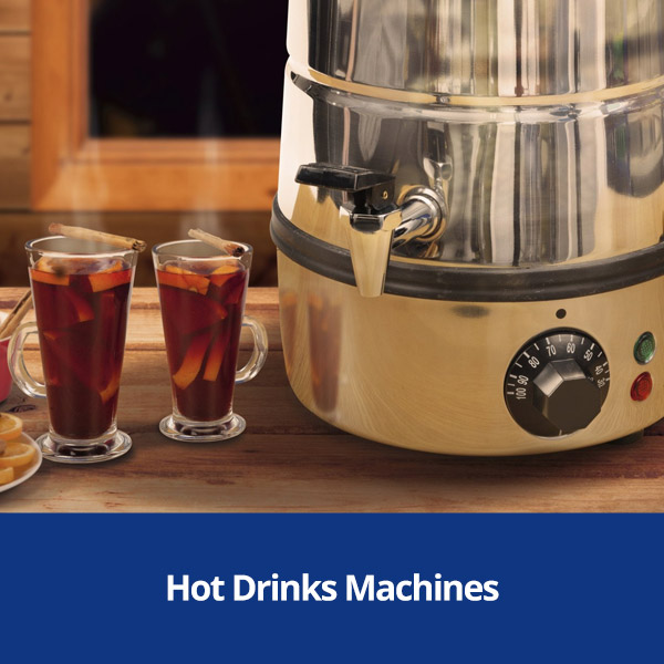 Hot Drinks Machines and Accessories from Stephensons Catering Suppliers