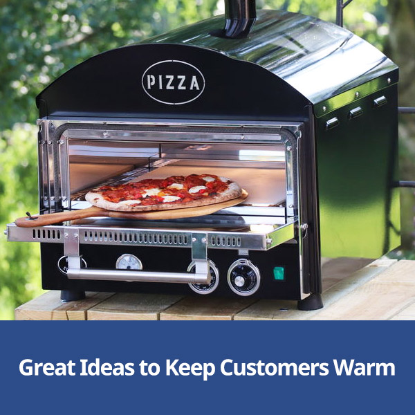 Keeping Customers Warm with products from Stephensons Catering Suppliers