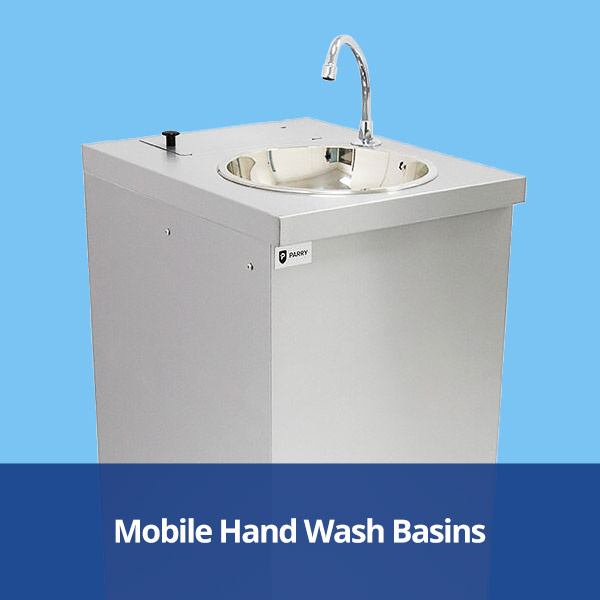 Mobile Hand Wash Basins from Stephensons Catering Suppliers