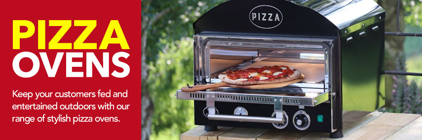 Stylish Retro Pizza Ovens from Stephensons Catering Suppliers