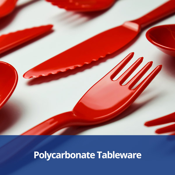 Polycarbonate Tableware from Stephensons Catering Suppliers