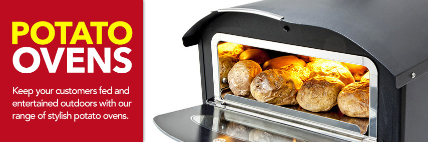 Potato Ovens from Stephensons Catering Suppliers