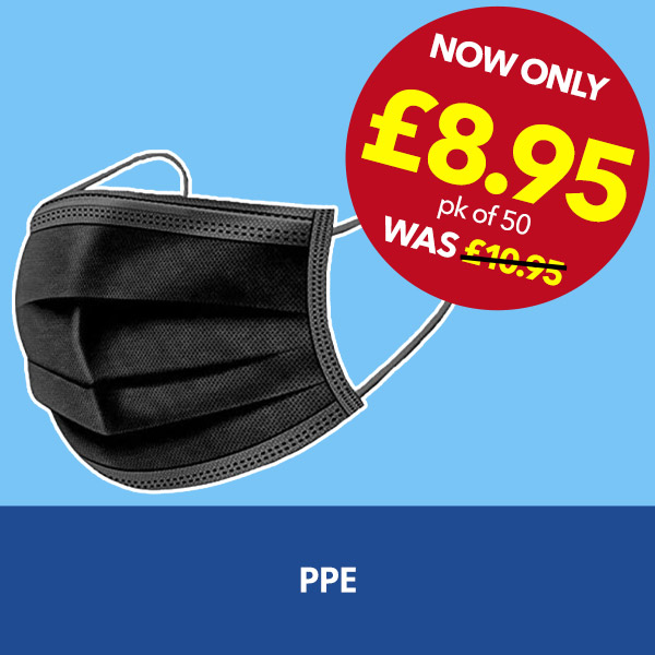 Personal Protective Equipment (PPE) from Stephensons Catering Suppliers