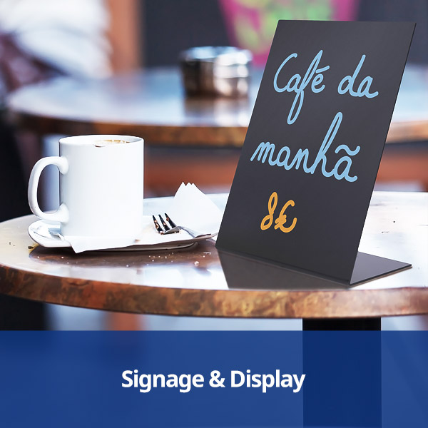 Signage & Display from Stephensons Catering Suppliers