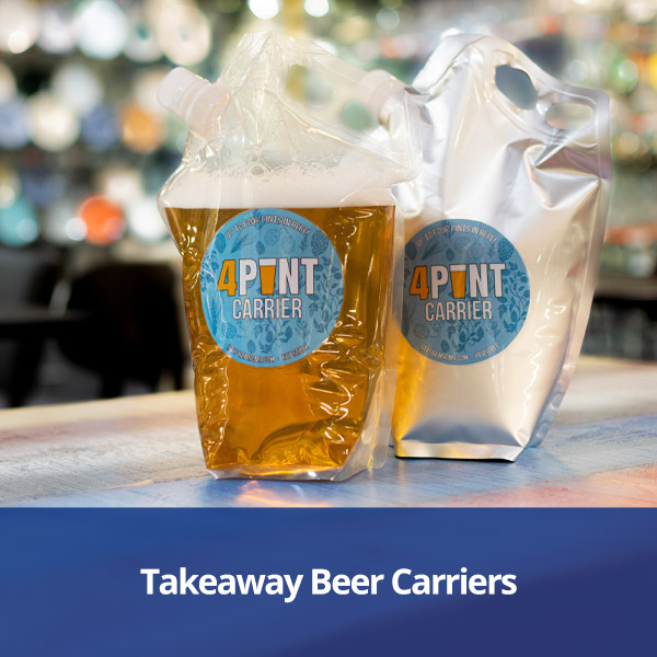 Takeaway Beer Carriers from Stephensons Catering Suppliers