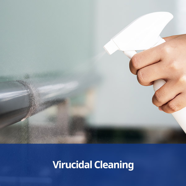 Virucidal Cleaning Products from Stephensons Catering Suppliers