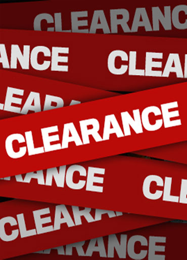 Clearance Catering Equipment