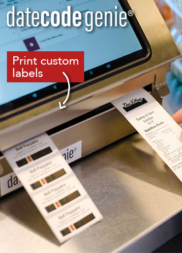 Date Code Genie Label Printers from Stephensons Catering Suppliers