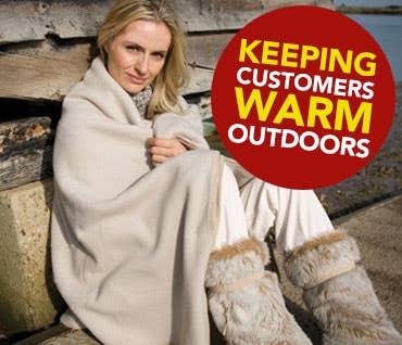 Keeping Customers Warm Outdoors