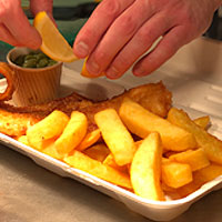 Bagasse Fish & Chip Takeaway Packaging from Stephensons