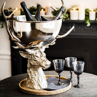 Large Stag Champagne Cooler from Stephensons Catering Suppliers