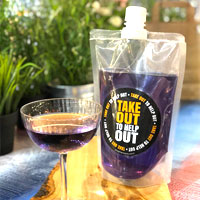 Takeaway cocktail pouch from Stephensons Catering Suppliers