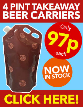 4 Pint Beer Carriers from Stephensons Catering Suppliers
