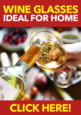 Wine Glasses Ideal for Home from Stephensons Catering Suppliers