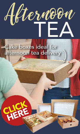 Cake Boxes and Inserts from Stephensons Catering Suppliers