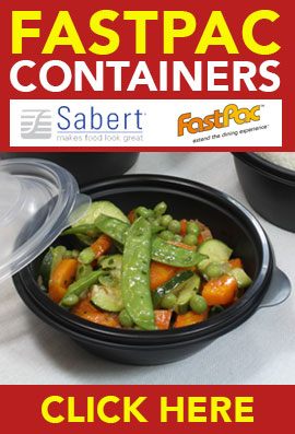 FastPac Containers from Stephensons Catering Equipment Suppliers