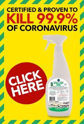 Greyland Ultra Spray & Wipe Virucidal Disinfectant Sanitiser