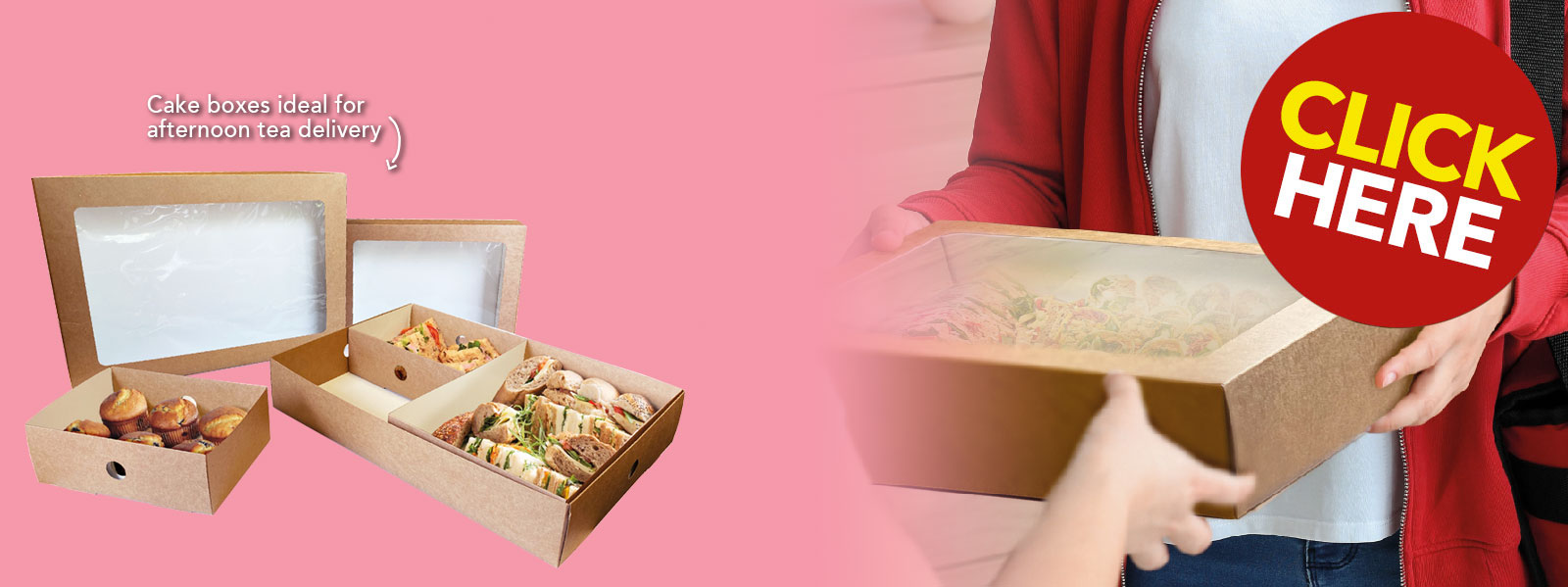 Mother's Day Afternoon Tea Takeaway Boxes