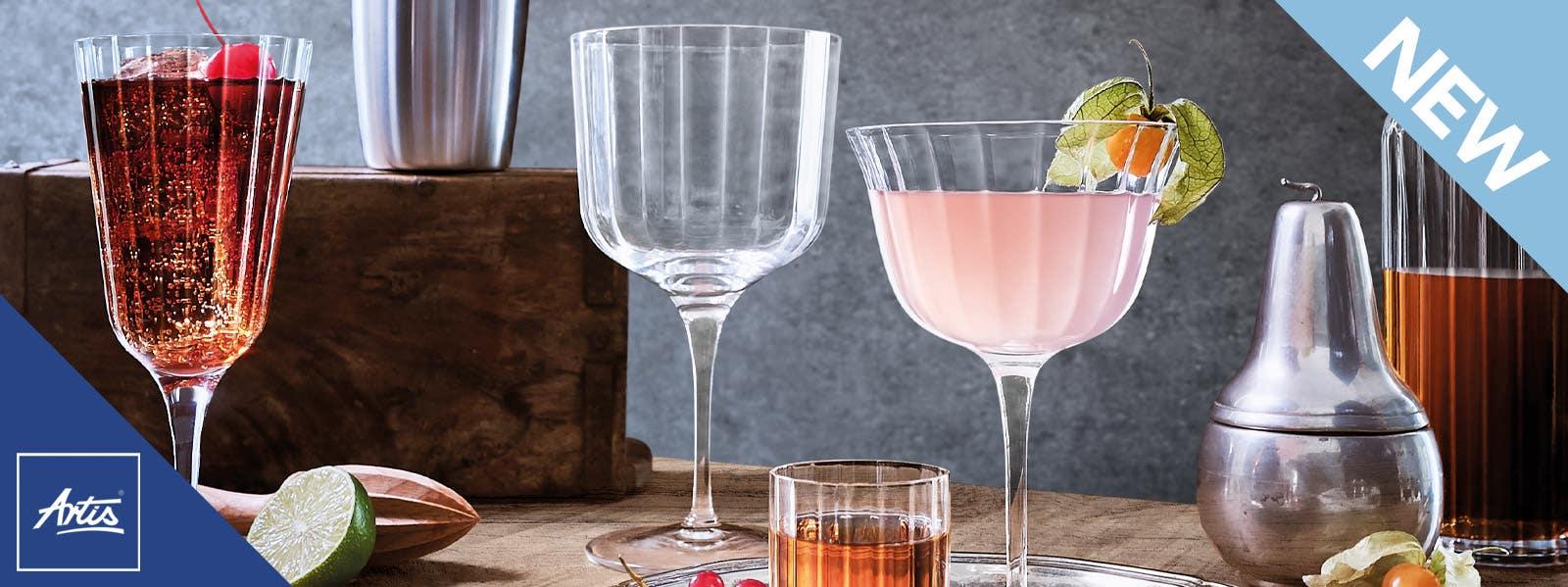 Artis Bach Vintage Glassware