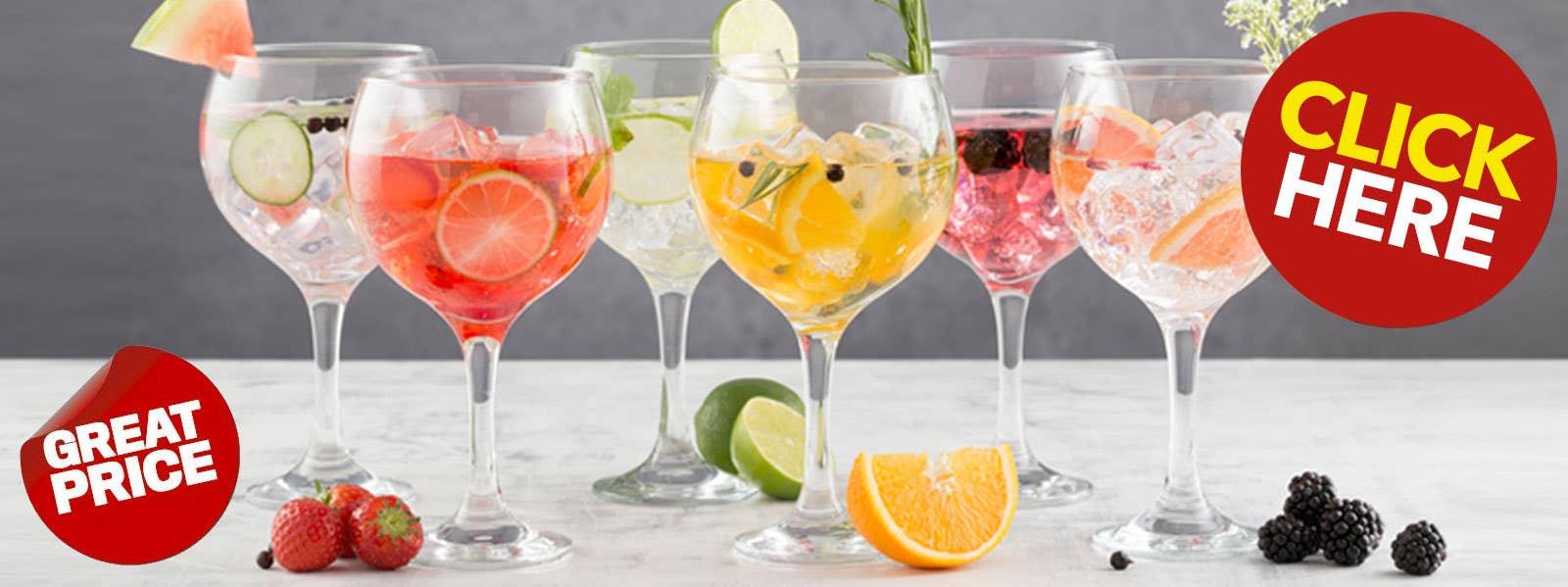 Entertain Gin Glasses