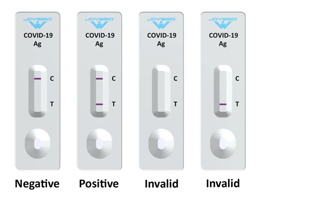 JOYSBIO COVID Test Result Interpretation