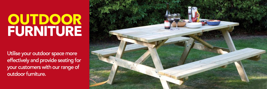 Outdoor Furniture from Stephensons Catering Suppliers