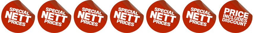 Special Nett Prices