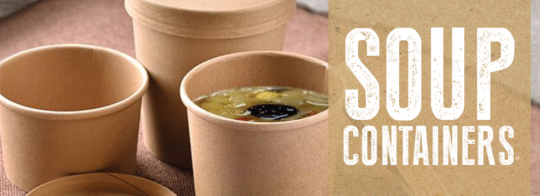Takeaway Soup Containers