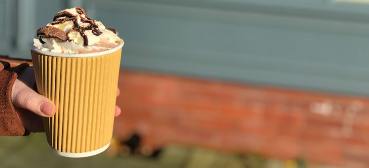 Takeaway Kraft Coffee Cups