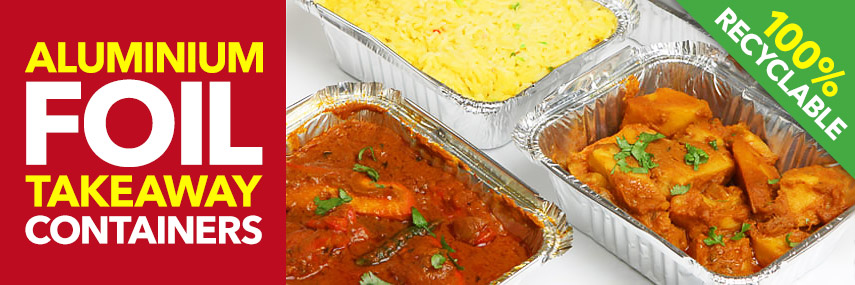 Takeaway Foil Tray Containers
