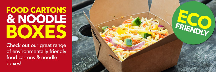 Takeaway Food Cartons & Noodle Boxes