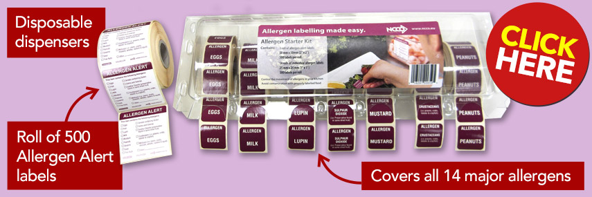 Allergen Label Starter Kit