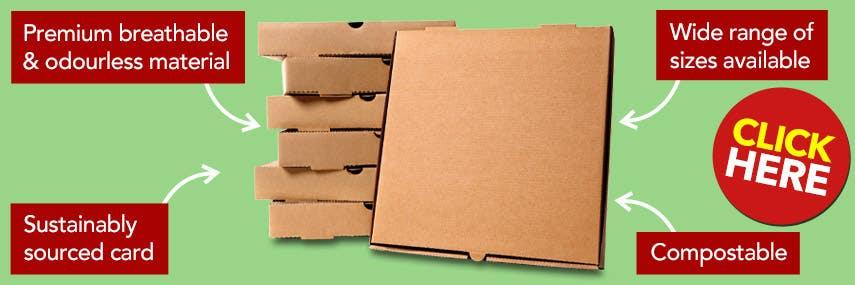 Eco-Friendly Pizza Boxes
