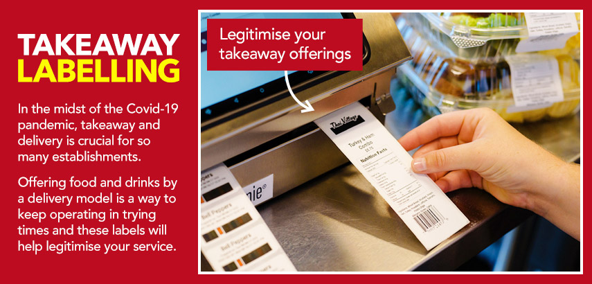 Takeaway and Home Delivery Labelling