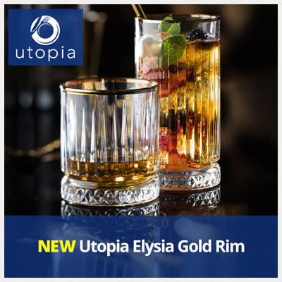 NEW Utopia Elysia Gold Rim