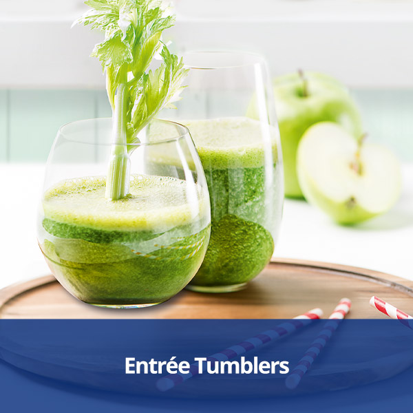 Villeroy & Boch Entrée Tumblers from Stephensons Catering Suppliers