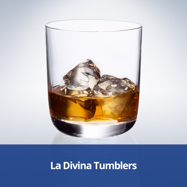 Villeroy & Boch La Divina Tumblers from Stephensons Catering Suppliers