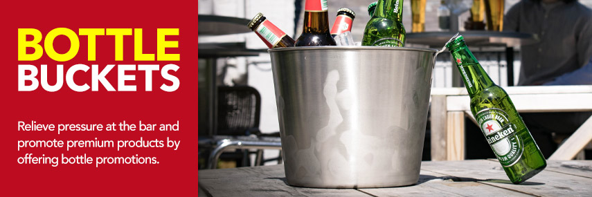 Bottle Buckets from Stephensons Catering Suppliers