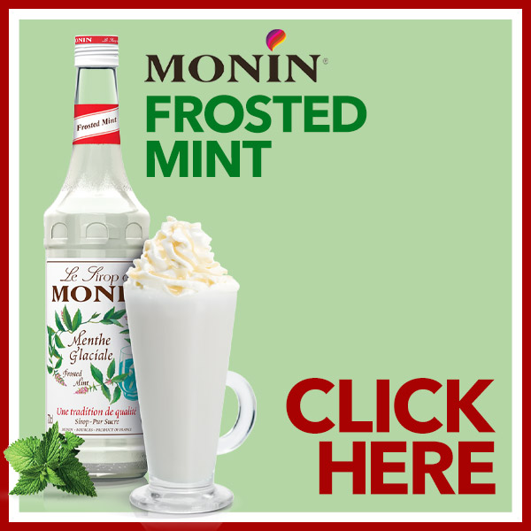 Monin Frosted Mint Syrups