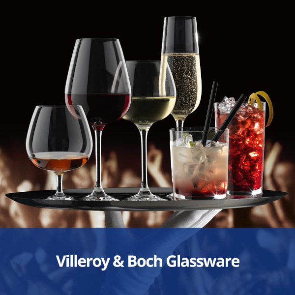 Villeroy & Boch Premium Glassware from Stephensons Catering Suppliers