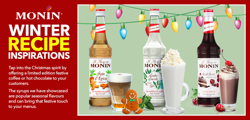 Monin Winter Recipe Inspirations