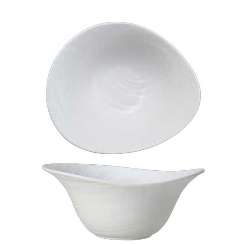 Steelite Scape Melamine White Large Deep Bowl 10x4.25