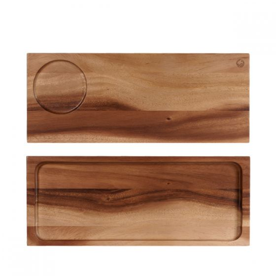 Alchemy Acacia Wooden Large Serving Board 16.5x6.5