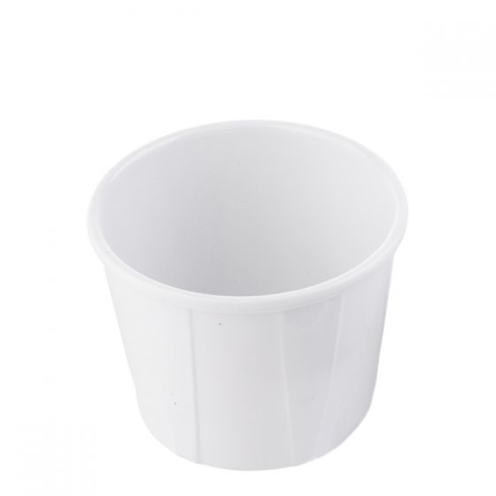 Better Burger Collection White Melamine Souffle Cup 3oz / 9cl
