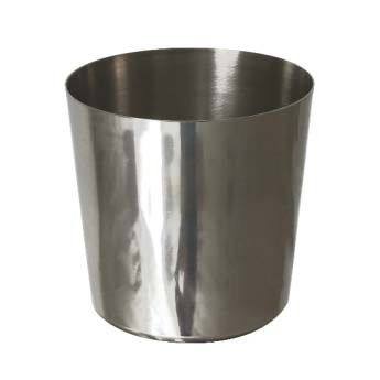 Stainless Steel Chip Cup Plain 3.5