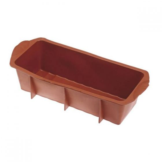 Flexible Silicone Loaf Mould 1.5Ltr, 240x100x75mm